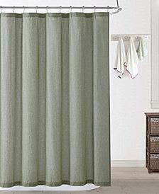 Oceanfront Resort Chambray Coast Shower Curtain