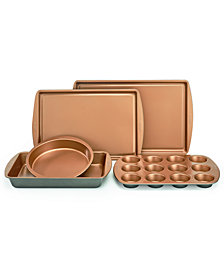 Crux Nonstick Copper 5-Pc. Bakeware Set