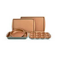 Crux Nonstick Copper 5-Piece Bakeware Set