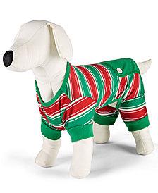 Matching Family Pajamas Stripe Pet Pajamas, Created for Macy's