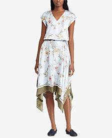 Lauren Ralph Lauren Floral-Print Twill Dress