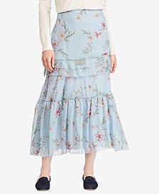 Lauren Ralph Lauren Floral-Print Maxiskirt