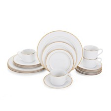 Mikasa Haley Gold 20-Pc. Dinnerware Set, Service for 4