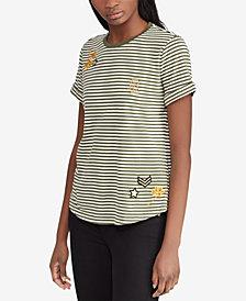 Lauren Ralph Lauren Embellished T-Shirt
