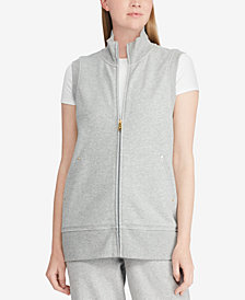 Lauren Ralph Lauren French Terry Vest