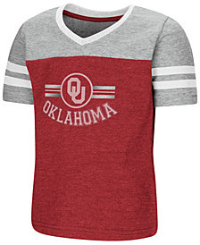 Colosseum Oklahoma Sooners Pee Wee Football T-Shirt, Toddler Girls (2T-4T)