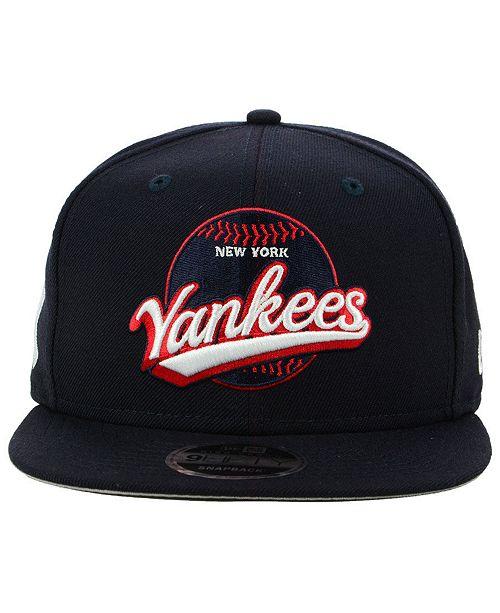 d11a359488f New Era New York Yankees Vintage 9FIFTY Snapback Cap - Sports Fan ...