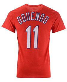 Majestic Men's Jose Oquendo St. Louis Cardinals Official Player T-Shirt