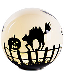 Home Essentials LED Halloween Globe