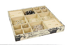 Home Basics Jumbo  Paris Jewelry Organizer