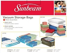 Home Basics 12-Pc. Plastic Vacuum Bags
