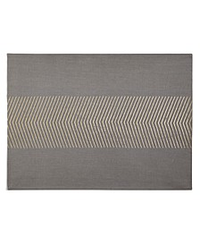 CLOSEOUT! Grey Placemat with Gold, Created for Macy's