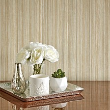 Textured Grasscloth Self-Adhesive Wallpaper