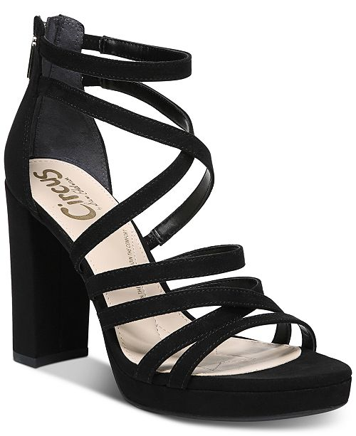 eab041aa379c8 Circus by Sam Edelman Adele Strappy Dress Sandals   Reviews ...