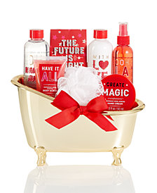 Simple Pleasures Bath Tub Gift Set