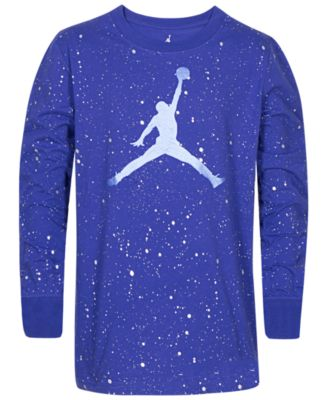 Boys Speckled Jumpman Graphic Cotton