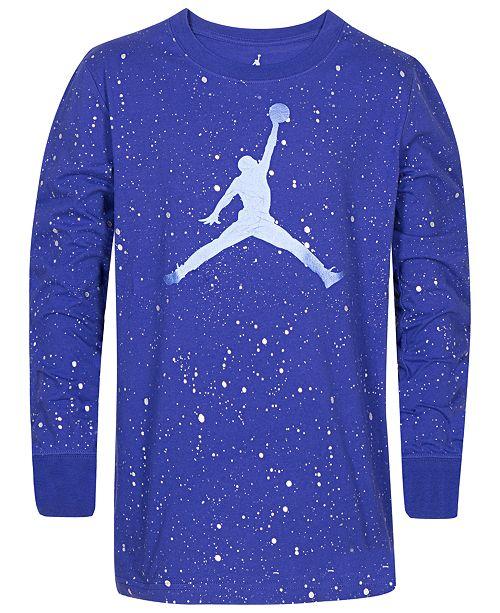 c00f034259072f Jordan Little Boys Speckled Jumpman Graphic Cotton T-Shirt   Reviews