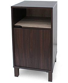 Linnea 1 Shelf Cabinet Quick Ship