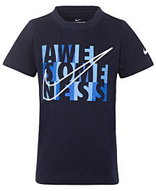 Nike Little Boys Awesome Graphic Cotton T-Shirt