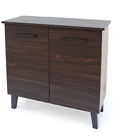 Wilson 3-Shelf  Cabinet, Quick Ship