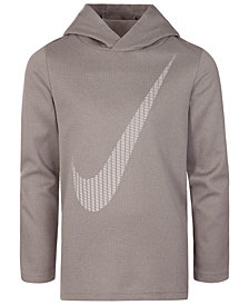 Nike Little Boys Dri-FIT Swoosh Graphic-Print Hoodie
