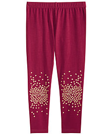 Epic Threads Toddler Girls Glitter-Heart Leggings, Created for Macy's