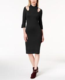Love Scarlett Petite Mock-Neck Sweater Dress