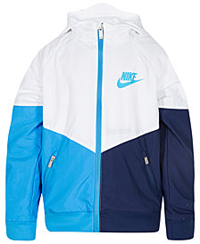 Nike Toddler Boys Colorblocked Hooded Sportswear Windrunner Jacket