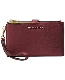 MICHAEL Michael Kors Adele Double-Zip iPhone 7 Plus Wristle