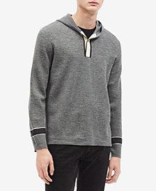 Calvin Klein Men's Phillips-Van Heusen Pullover Placket Hoodie