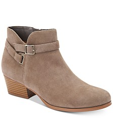 Giani Bernini Dorii Memory-Foam Ankle Booties, Created for Macy's