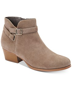 bf4ec1304ac Leather Ankle Boots: Shop Leather Ankle Boots - Macy's