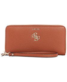 GUESS Flora Zip Around Wallet