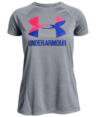 Big Girls Logo Solid T-Shirt