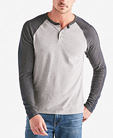 Lucky Brand Men's Long-Sleeve Colorblocked Henley