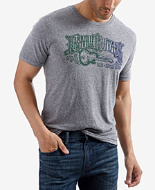 Lucky Brand Men's Nashville Guitar Graphic T-Shirt
