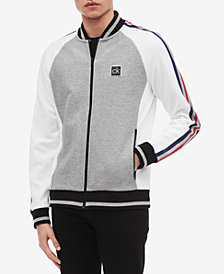 Calvin Klein Men's Full-Zip Baseball Jacket