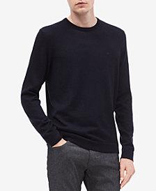 Calvin Klein Men's Solid Crewneck Sweater