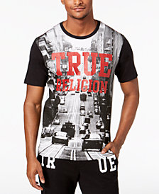 True Religion Men's Cityscape Graphic T-Shirt