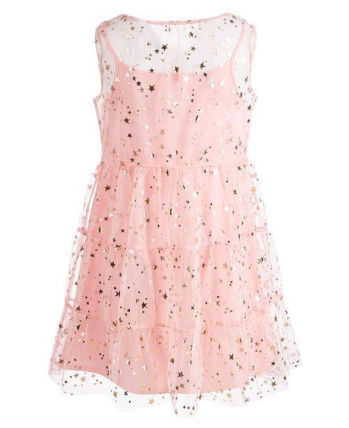 e2b59c361b11 Epic Threads Big Girls (Size 16) Star-Print Mesh Dress