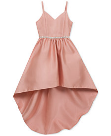 Rare Editions Big Girls Embellished Satin Dress