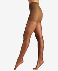 Women's  Ultra Sheer Control Top with Reinforced Toe Pantyhose 4419