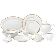 Georgette 57-Pc. Dinnerware Set, Service for 8