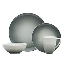 Mikasa Naya Gray 16-Pc. Dinnerware Set, Service for 4