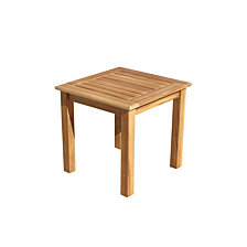Courtyard Casual Teak Heritage Outdoor Teak Side Table