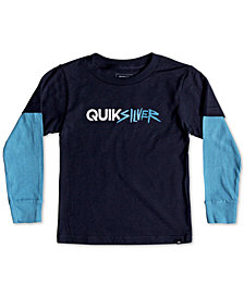 Quiksilver Little Boys Opposites Attract Graphic Cotton T-Shirt