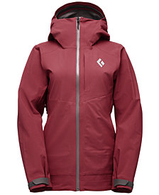 Black Diamond Women's Recon Stretch Ski Shell Jacket from Eastern Mountain Sports