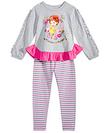 Disney Little Girls 2-Pc. Fancy Nancy Top & Leggings Set
