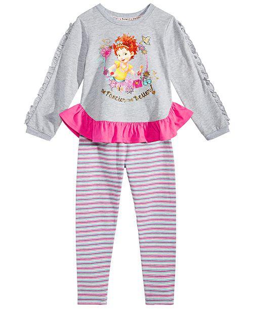 89c6f753f Disney Little Girls 2-Pc. Fancy Nancy Top & Leggings Set & Reviews ...