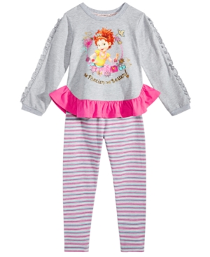 Disney Little Girls 2Pc Fancy Nancy Top  Leggings Set